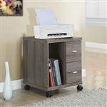 2 Drawer Printer Cart