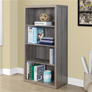 "48""h Bookcase w/ Adjustable Shelves"