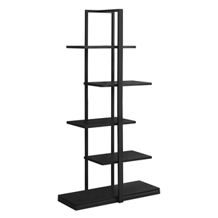 5-Tiered Staggered Shelf