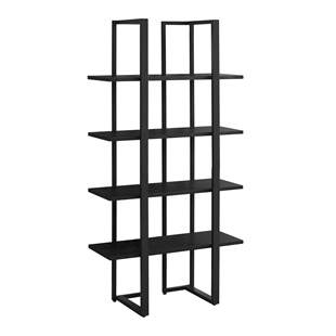 4-Shelf Modern Metal Shelf