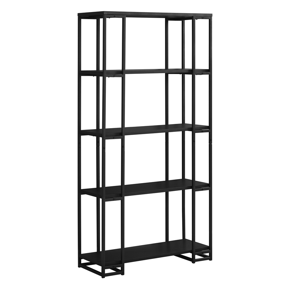 industrial metal bookshelf shelvingcom - Industrial Metal Shelving