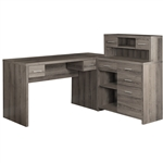 Reclaimed L Shaped Desk