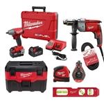 BEST - Installation Kit w/ Corded Tools