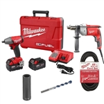 GOOD - Installation Kit w/ Corded Tools