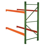 Teardrop Pallet Rack Add-On Units