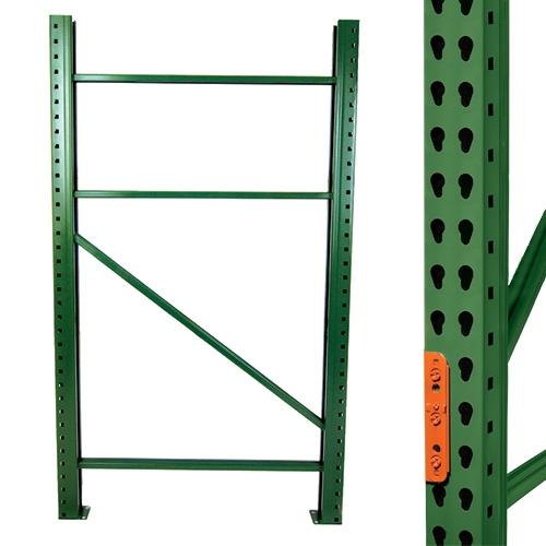 Teardrop Pallet Rack Frames Amp Uprights Shelving Com