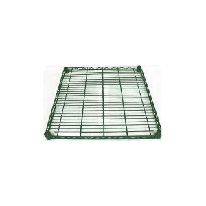 "18""d Green Epoxy Wire Shelf"
