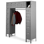 "16 Person Locker - 18""d x 69""w x 78""h"