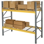 Double Slotted Pallet Rack Starter Unit