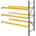 Double Slotted Pallet Rack Add On Unit