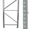 Double Slotted Pallet Rack Upright Frames