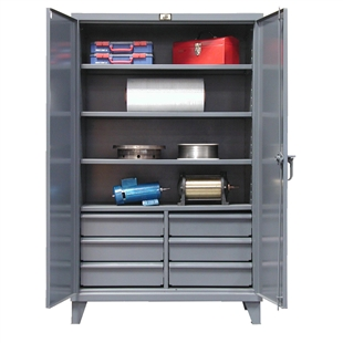 Stronghold Floor Model Cabinets w/ Lower Drawers