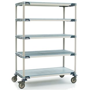 MetroMax i 5-Shelf Stem Caster Carts