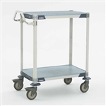 MetroMax i Antimicrobial 2-Shelf Utility Carts