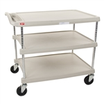 "27""d 3-Tier Chrome-Plated myCart"