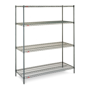 "21""d x 63""h Super Erecta 4-Shelf Units"
