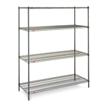 "24""d x 63""h Super Erecta 4-Shelf Units"
