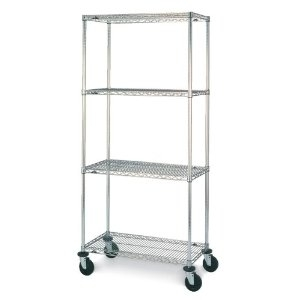 Metro Super Erecta 4 Shelf Stem Caster Cart