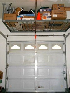 Overhead Storage Rack For Garage Or Warehouse