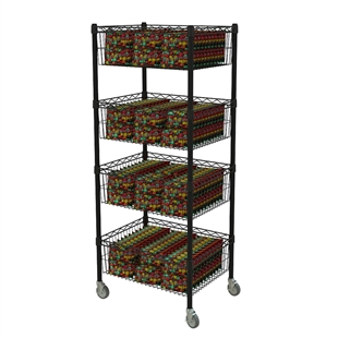 Standard Tall Basket Cart