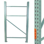 "48""d Pallet Rack Upright Frame"