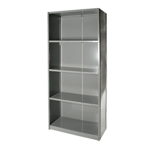 "Closed Steel 5-Shelf Units - 18""d x 87""h"