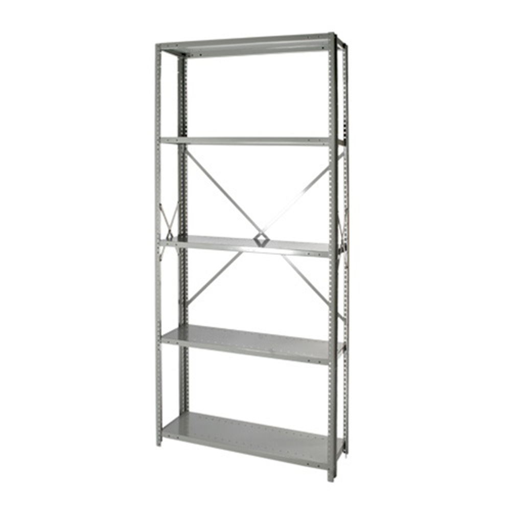 Open Steel 5 Shelf Units 12 Quot Depth