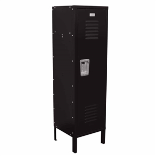 Kids Locker with Legs - Black