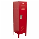 Kids Locker with Legs - Red