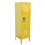 Kids Locker with Legs - Yellow