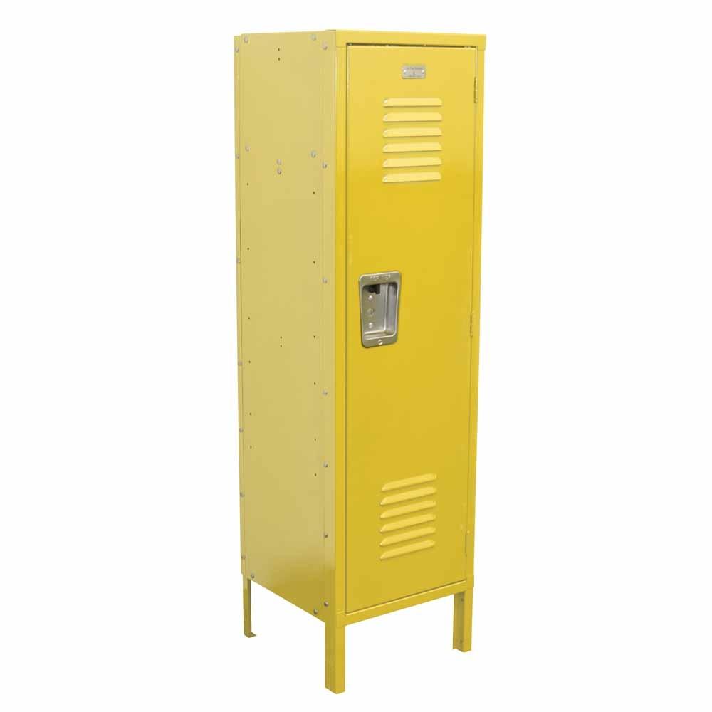 Kids Locker With Legs Yellow