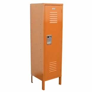 Kids Locker with Legs - Orange