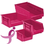 Pink for the Cure Storage Bins