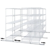 Double Track Kit for Wire Shelving