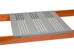 Perforated Steel Rack Decking