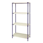Wire Plastic Mat Shelving
