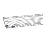 "21""d Silver EP Wire Shelves"