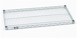 "24""Depth Stainless Steel Wire Shelves"