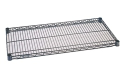 "24""d Nexelon wire shelving"
