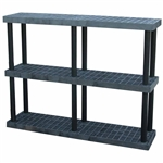 "DuraShelf 66""w 3-Shelf System"