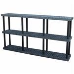 "DuraShelf 96""w 3-Shelf System"