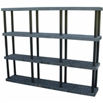 "DuraShelf 96""w 4-Shelf System"