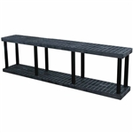 "DuraShelf 96""w Base 2-Shelf System"