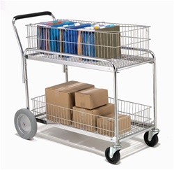 Mail Delivery and Service Cart