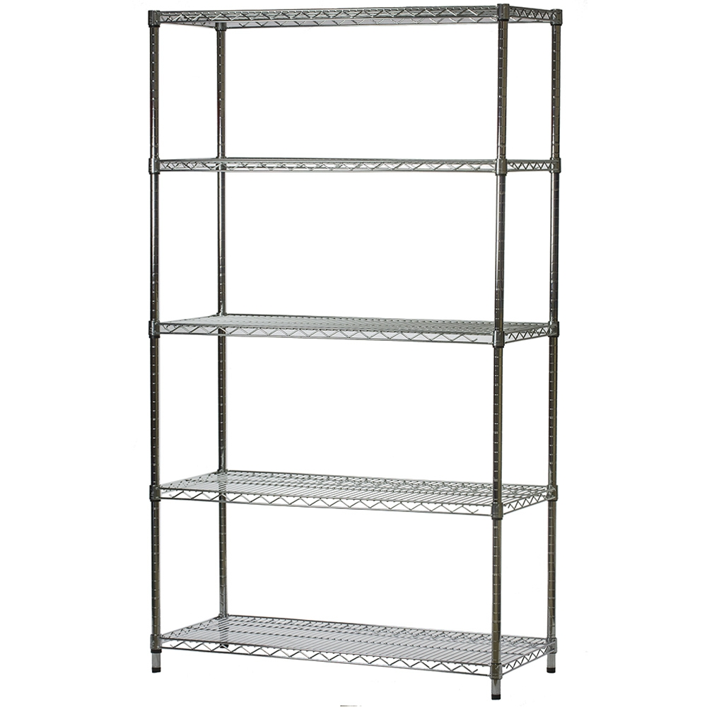 Additional Photos  sc 1 st  Shelving.com & Wire Shelving - 18 inches deep x 42 inches wide with 5 Shelves