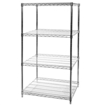 "24""D x 30""W Starter Unit - 84"" Height (4 Shelves)"