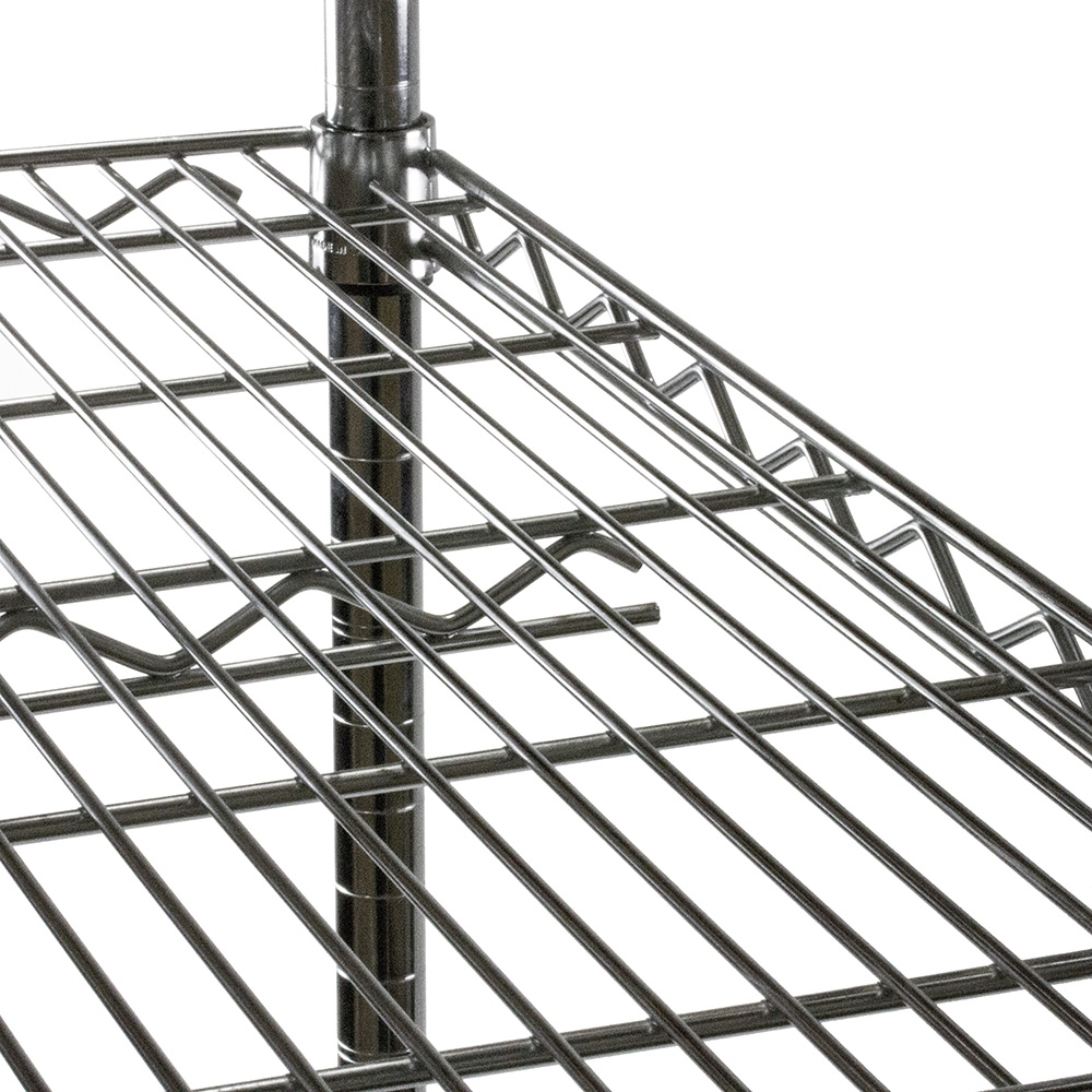 Wire Shelving Unit with Five Shelves - 24\