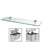 Standard Clear Glass Shelf