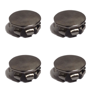 Chrome Corner Cap - 4-Pack