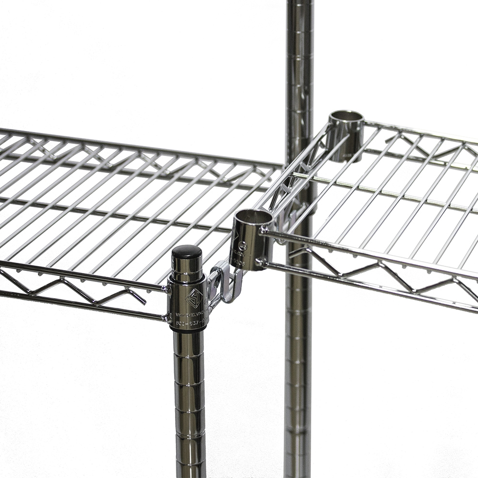 S-Hook for Wire Shelving Add On Units - 2 required per shelf